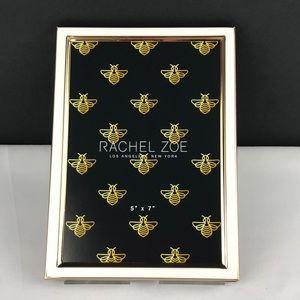 "Rachel Zoe, White/Gold frame. 5""x7"". NWT"